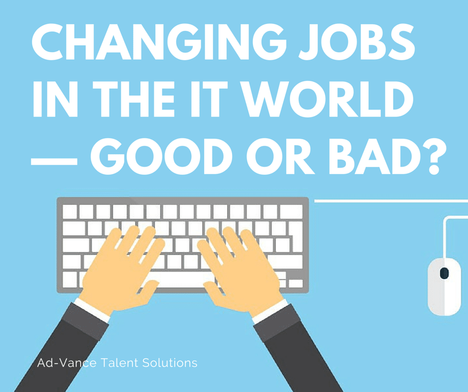 Changing IT jobs