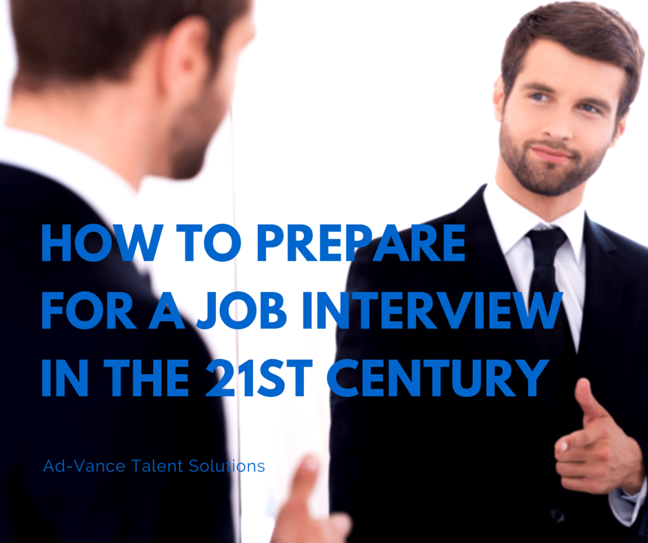 how to prepare for a big job interview