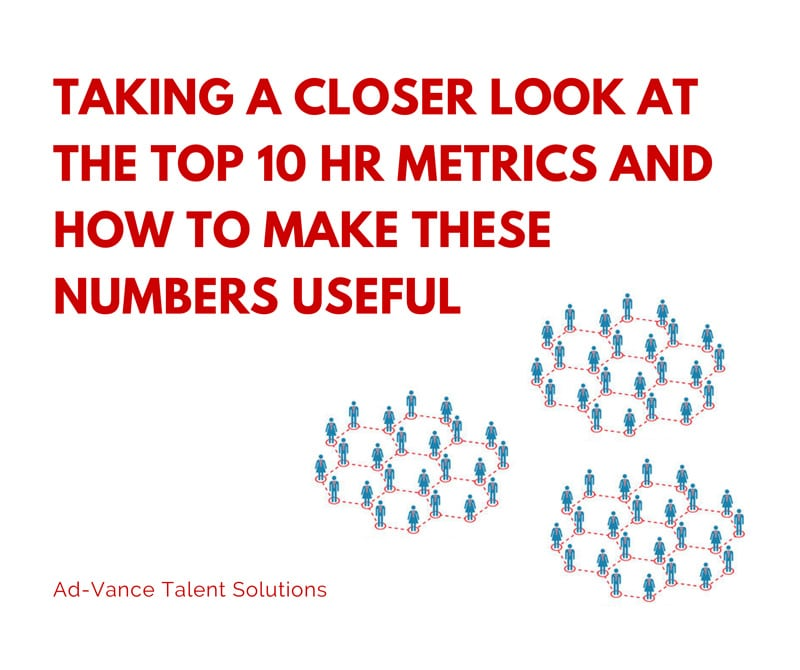 Taking A Closer Look At The Top 10 Hr Metrics | Ad-Vance Talent