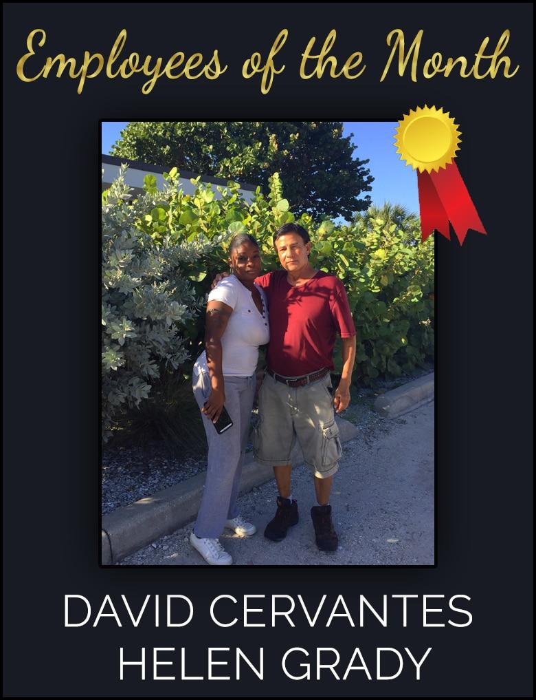 David Cervantes and Helen Grady