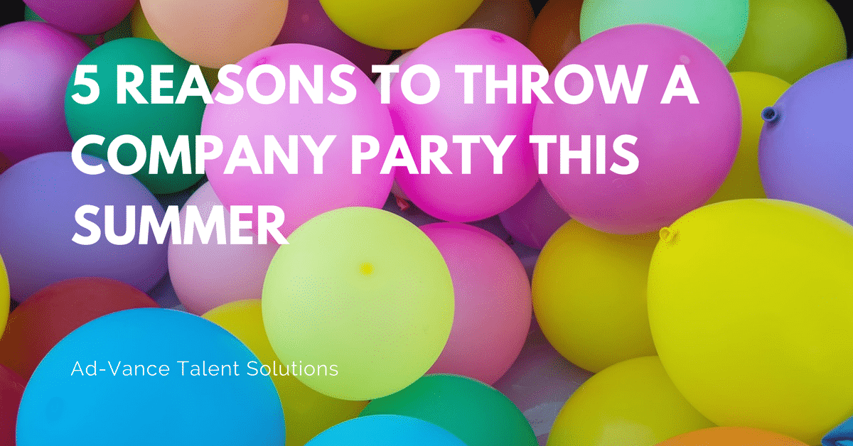 5 Reasons to Throw a Company Party This Summer