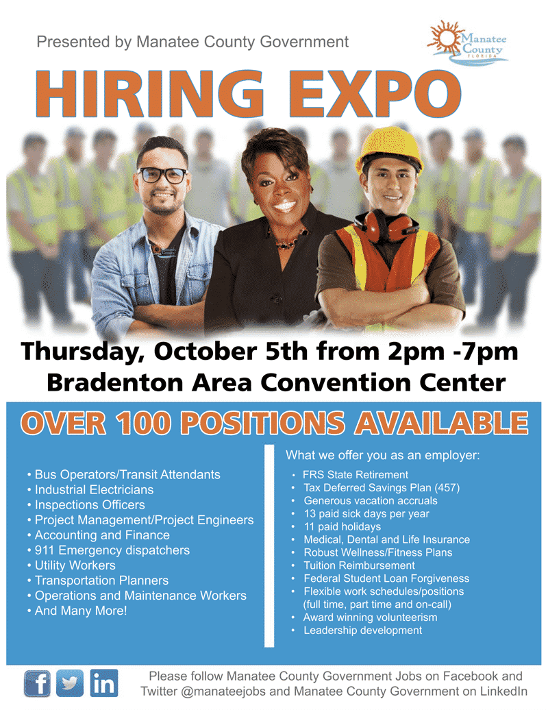 Manatee-County-Government-Hiring-Expo