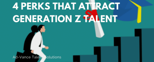 4 Perks that Attract Generation Z Talent