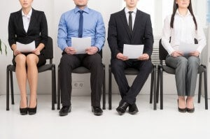candidates for a job interview