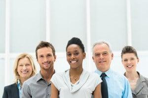 interracial, intergenerational team