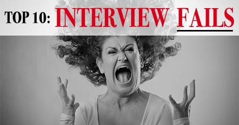 interview fails