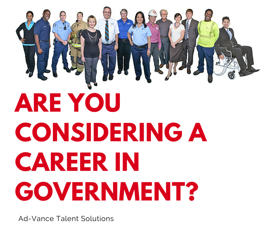 Career in Government