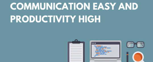 Our 5 Favorite Tech Tools to Keep Workplace Communication Easy and Productivity High