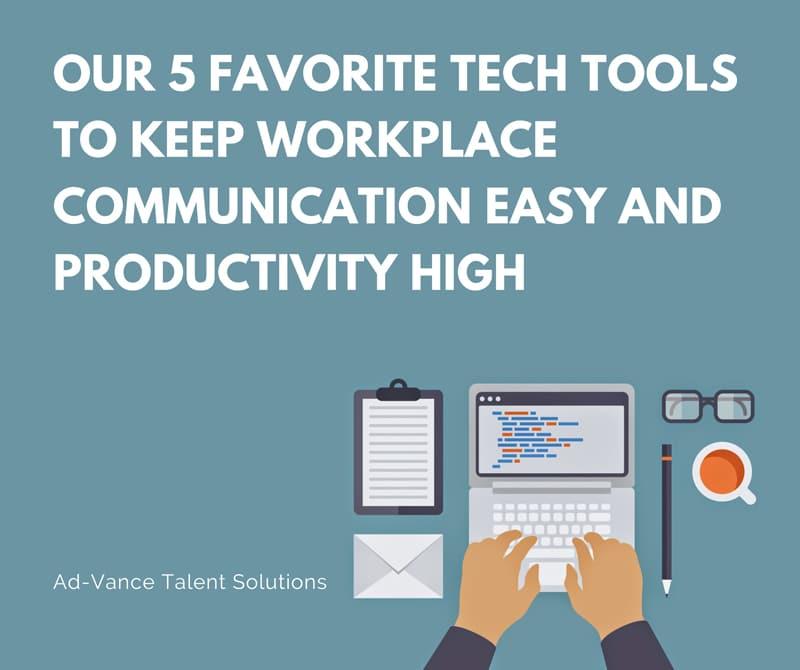 5 favorite tech tools