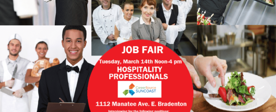 HOSPITALITY PROFESSIONALS JOB FAIR