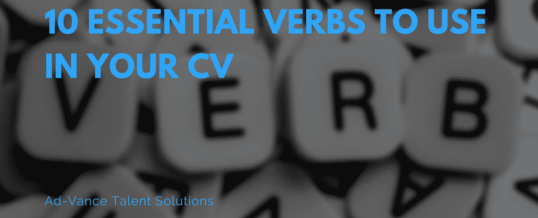 10 Essential Verbs to Use in Your CV