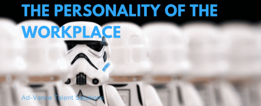 The Personality of the Workplace