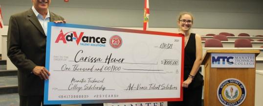 Ad-VANCE Awards Scholarships to Local Graduates
